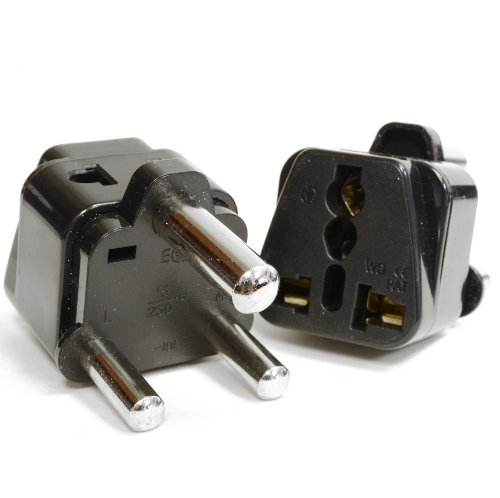 OREI 2 in 1 USA to South Africa Adapter Plug (Type M) - 2 Pack, - South Africa Online