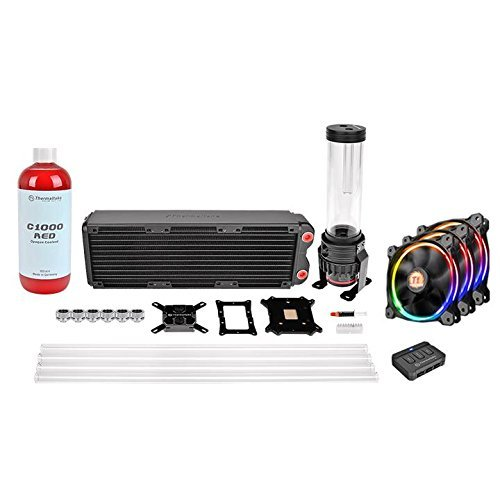 thermaltake-pacific-rl360-d5-hard-tube-rgb-water-cooling-kit-with-3-rgb-riing-case-fans-and-red-cool