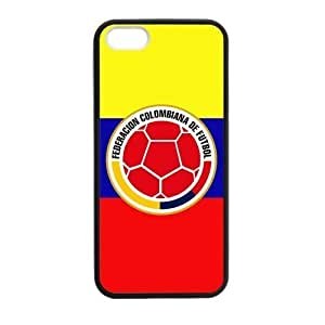 2015c FIFA World Cup Colombia Flag Logo Case for iphone 5c case
