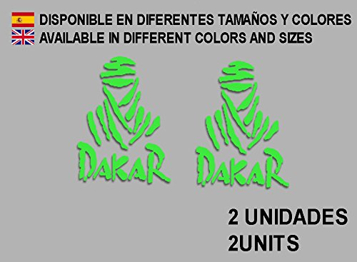 PEGATINAS-DAKAR-F68-VINILO-ADESIVI-DECAL-AUFKLEBER--STICKERS-CAR-VOITURE