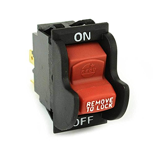 BEST Choose New On-Off Toggle Switch rep Delta 489105-00 Porter Cable Ryobi/Ridgid 46023 - SW7A (Chop Top Ca compare prices)