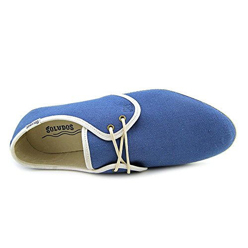 Sandshoe Up Navy Soludos 7 Lace Womens Canvas US M 1OwpEqAxH