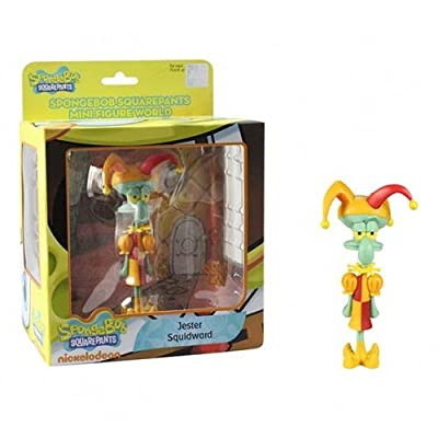 SpongeBob SquarePants Mini Figure World Series 1 - Jester Squidward: Toys & Games