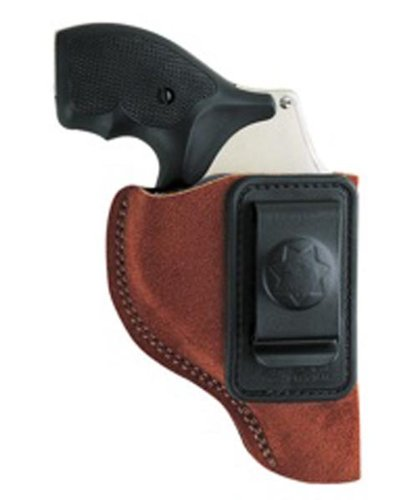 (Bianchi, 6 Waistband Holster, Natural Suede, Size 04, Right Hand )