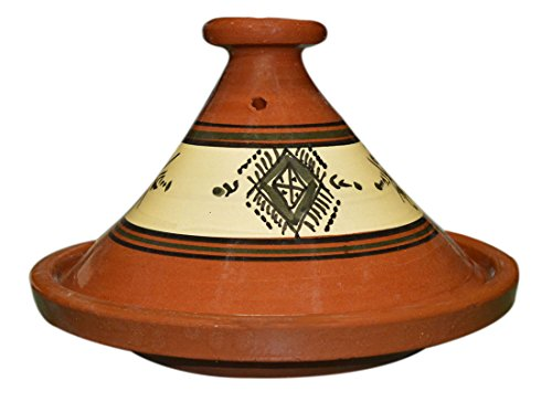 Cooking Tagines Moroccan Large Lead Free by Cooking Tagines