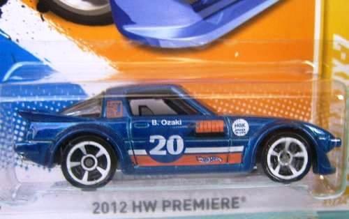 Hot Wheels - Mazda RX-7 (Blue) - 2012 HW Premiere - 31/50 ~ 31/247 [Scale 1:64]