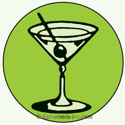 ((Martini Glass))