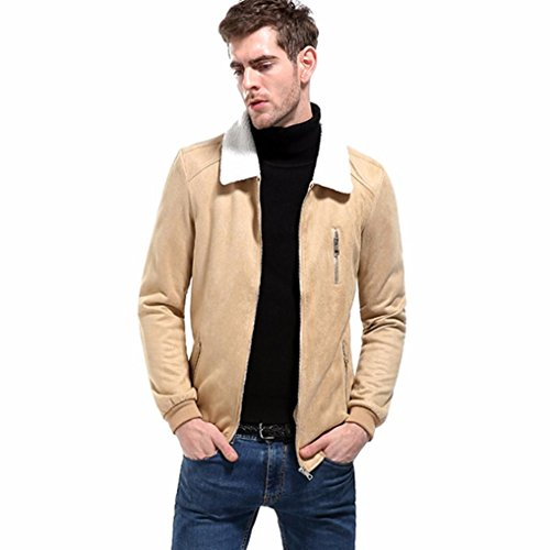 Mens Solid Long Khaki Jacket Men's Workwear Solid Turn Casual New Streetwear Tops Cotton Down Sleeve Coat Fashion Quality Zipper Anglewolf High Outwear Softstyle Cardigan Collar C0atqwES