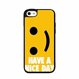 Have a Nice Day - TPU Rubber Silicone Phone Case Back Cover (iPhone 5/5s)