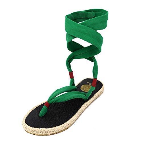 Scarpe Stuoia Da Yoga Da Donna Nalho, Verdure Verdi