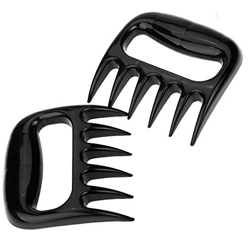 Ins Carving Knife - Pulled Pork Shredder Claws - Easily Lift, Handle, Shred, and Cut Meats - Ultra-Sharp Blades , BPA Free , Dishwasher Safe , Heat Resistant - Nylon - Essential for BBQ Pros