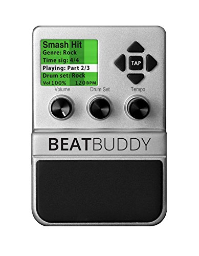 BeatBuddy the Only Drum Machine That sounds Human and is Easy To Use (Best Drum Pedal For Guitar)