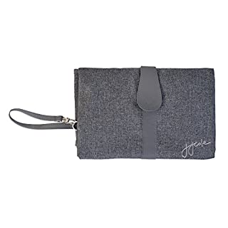 JJ Cole Diaper Changing Clutch, Gray Heather