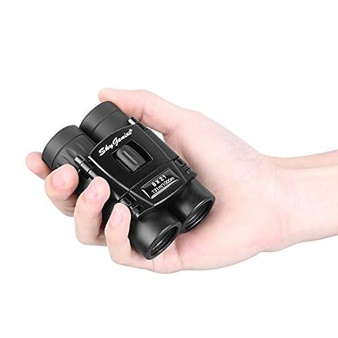 8x21 Small Compact Lightweight Binoculars For Concert Theater Opera .Mini Pocket Folding Binoculars w/ Fully Coated Lens For Travel Hiking Bird Watching Adults (Folding Binoculars Kids)