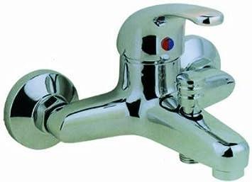 Miscelatore Vasca Da Bagno : Miscelatore acciaio cromato per vasca da bagno amazon fai da te