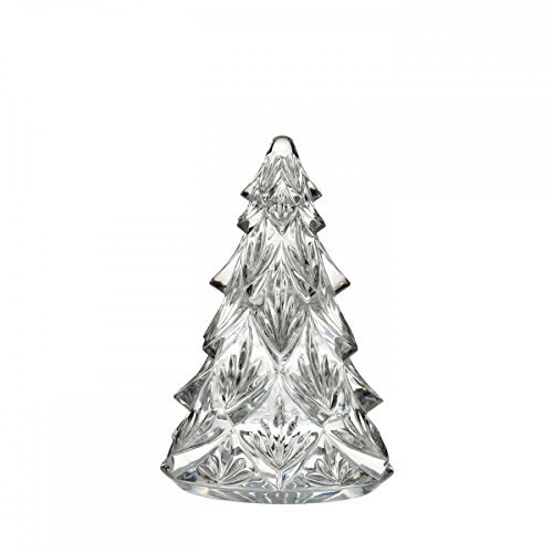 - Waterford Clear Medium Crystal Christmas Tree Sculpture Figurine by Waterford