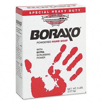 Boraxo Heavy-duty Powdered Hand Soap, Unscented 5lb Box by A W MENDENHALL (Image #1)