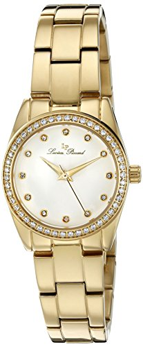 Lucien Piccard Women's 'LaBelle' Quartz Stainless Steel Casual Watch (Model: LP-40023-YG-22)