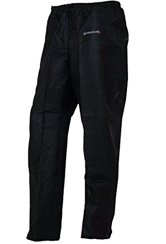 COMPASS AT33203-10-LG Womens Advantagetek T50 Rain Pants, Black, Large