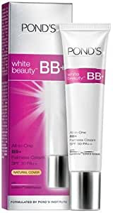 2 X Pond's White Beauty Bb+ All in One Fairness Cream SPF 30 Pa++(18 G) Pack of 2