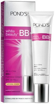 3 X Pond's White Beauty Bb+ All in One Fairness Cream SPF 30 Pa++(18 G) Pack of 3- Styledivahub® ...