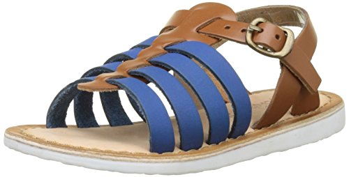 Kickers Sparta - Zapatos Niñas Bleu (Bleu Camel)