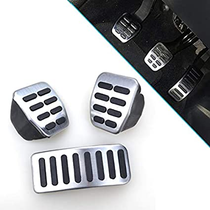Amazon.com: AUTOXBERT Car Foot Pedal Interior Clutch Gas Fuel Brake Pad Cover Fits for Seat Arosa Ibiza Cordoba Toledo 1M for Skoda Fabia MK1 MK2 Octavia: ...