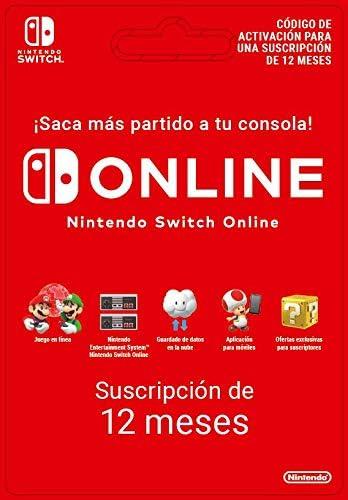 Nintendo Switch Online – 12 Meses | Nintendo Switch – Código de descarga