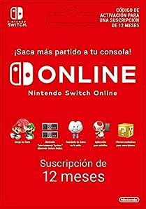 Nintendo Switch Online - 12 Meses   Nintendo Switch - Código de descarga