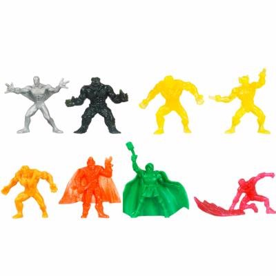 Marvel Universe, Handful of Heroes Mini Figures Wave 2, 8-Pack (Colors and Figures May (Marvel Universe Green)