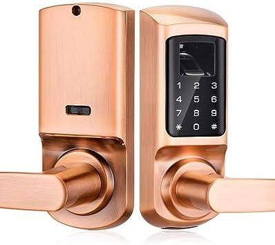 FM-02 Cerradura Inteligente con huella y código: Amazon.es ...