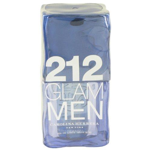 Carolina Herrera 212 Glam Eau de Toilette Spray for Men, 3.4 Ounce