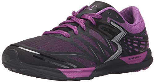 361 Women's Bio-Speed-W Cross-Trainer Shoe, Black/Violet, 9.5 M US by 361