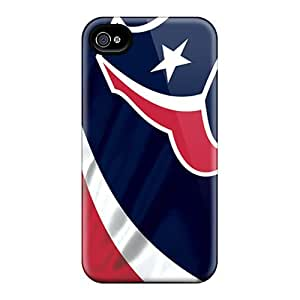Hot New Houston Texans Case Cover For Iphone 4/4s With Perfect Design