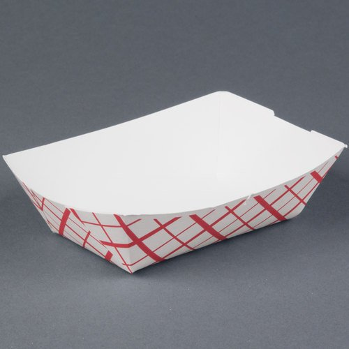 Southern Champion Tray Southland Paperboard Red Check Food Tray 0413 1 Lb. (Pack of (Southland Red Check Food Trays)