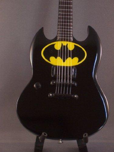 (Miniature Guitar BATMAN Display GIFT )