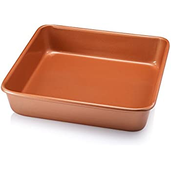 Amazon Com Gotham Steel Bakeware Nonstick Copper 9 Inch