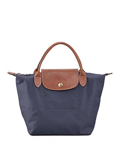 Longchamp Paris Le Pliage Small Handbag New Navy (Longchamp Tote Navy)