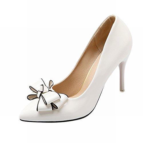 56bc01960c6 Latasa Women s Cute Bow Pointed-toe Stiletto High Heel Dress Pumps  high-quality