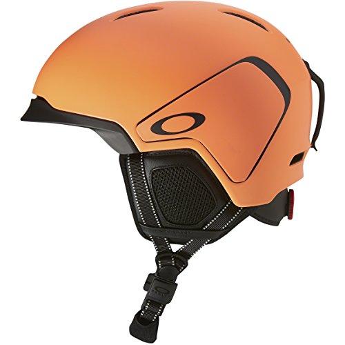 Oakley Mod3 Snow Helmet, Matte Neon Orange, - Orange Oakleys