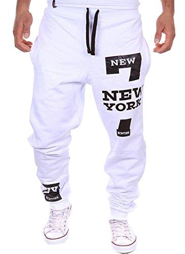 Cottory Men's Harem Casual Baggy Hiphop Dance Jogger Sweatpants Trousers