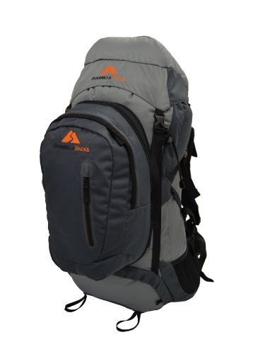 Guerrilla Packs Roundhouse Internal Frame Backpack, Middle Grey/Dark Grey by Guerrilla Packs