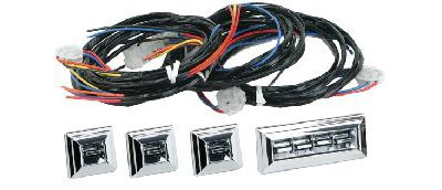 Electric Life 499050356 Chrome Power Window Kit for GM