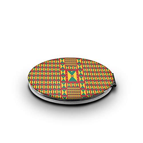 Grenada Flag Makeup MirrorMini Pocket Mirror (Ellipse)