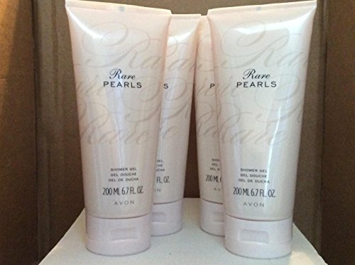 Rare Pearls Shower Gel lot 4 pcs