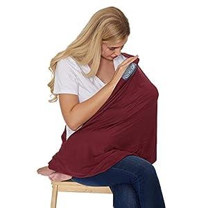 Écharpe d'allaitement pour bébé servant aussi de foulard de marque Neotech Care – Couverture large – Allaiter en privé…