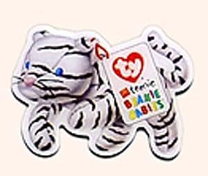 Amazon Com Rare Blizz The White Tiger Ty Beanie Babies