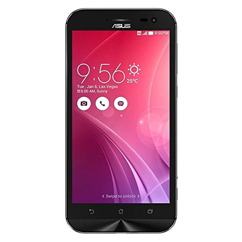 ASUS ZenFone Zoom Unlocked Cellphone, 64GB, Black (U.S. Warranty)