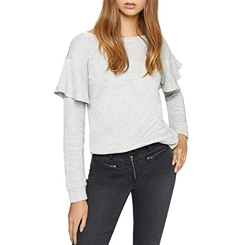 Sanctuary Womens Dominique Metallic French Terry Sweatshirt Gray M from Sanctuary Clothing