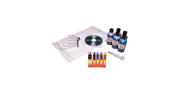 Edible Kit de Cartuchos de tinta para impresora para Canon ...